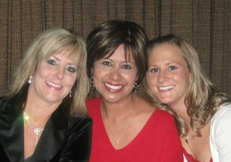 Beckie (center)